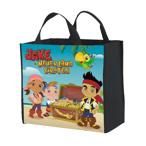 Jake and the Neverland Pirates Reuseable Pellon Treat Bag ()