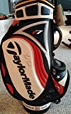 Fred Funk Autographed Taylormade R7 full size golf bag Summer 05 season open 1/2 - Autographed Golf Equipment