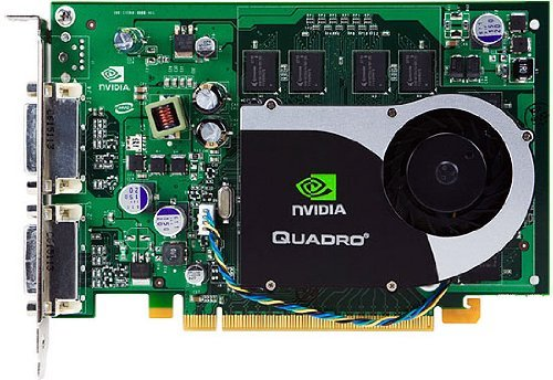HP HP 256MB NVIDIA Quadro FX570 Dual-VGA or Dual-DVI Graphics Adapt