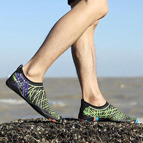Shoes Unisex Women LMMVP Sport Yoga Diving Snorkeling Socks Water Men Outdoor Green Beach Surf Swim UTqTR5xw