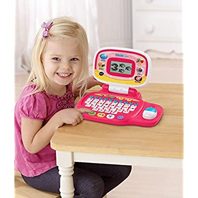 VTech Tote and Go Laptop, Pink: Toys & Games