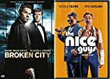 Russell Crowe DVD Double Feature: Broken City & The Nice Guys with Ryan Gosling 2 pack