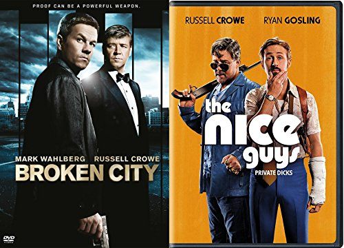 Russell Crowe DVD Double Feature: Broken City & The Nice Guys with Ryan Gosling 2 - Glasses Gosling Ryan