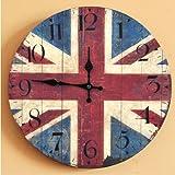 british clock - TOOGOO(R) Retro British flag Arabia digital clock Home D¨¦cor