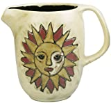Mara Ceramic Stoneware 48 Oz. Suns Pitcher