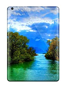 Special Design Back Beautiful Rivers Phone Cases Covers For Ipad Air