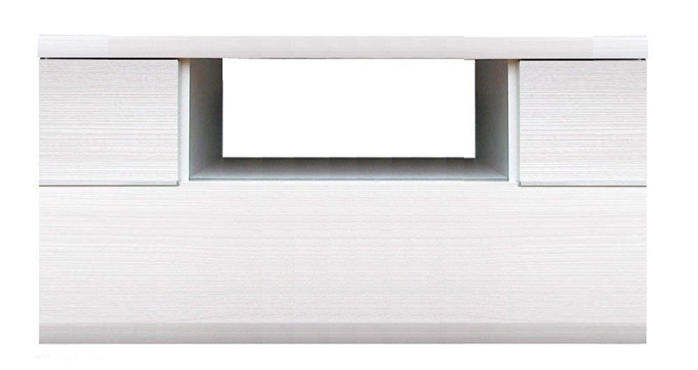 大谷工業 超薄型コーナーTVボード 【幅90x高さ41.5cm】 ホワイト色 USGー900-KW B077PQHKCQ 幅90cm|ホワイト ホワイト 幅90cm