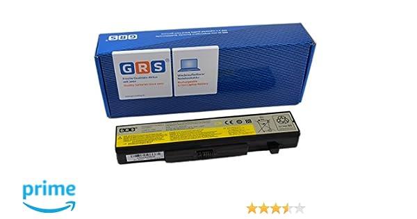 GRS - Batería para portátil LENOVO G580, G585, G480, Y480, Y485, Y580 IdeaPad Z380, Z480 Z580, Z585, Y580, G400, G500 sustituye a: L11L6 F01, L11 M6Y01, ...