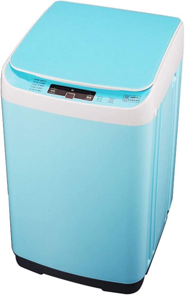 ポータブル洗濯機 - 自動洗濯機家庭用消毒幼児小型ミニ省エネ(青、ピンク)