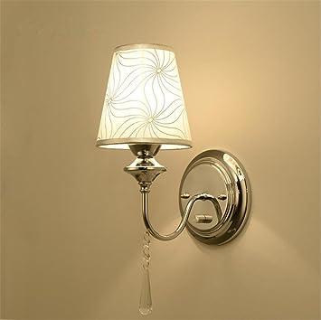 Applique Murale Moderne Lampe De Mur Avec Interrupteur E27 Socket