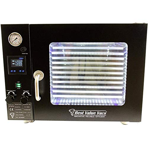 BVV 1.9 Cubic Foot Vacuum and Degassing Oven - 5 Wall Heating, Touch Screen, LED
