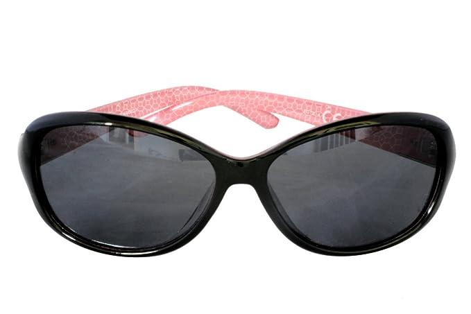 Foster Grant SOPRANO POL FG98 Gafas de sol rectangulares redondas estilo mujer Negro y rosa Marco