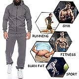 COOFANDY Man's Comfy Running Jogging Track Suit