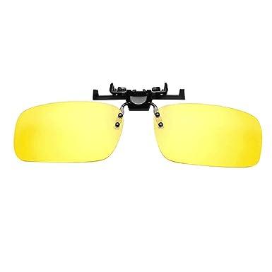 HCFKJ Gafas De Sol Polarizadas Con Clip Unisex Flip Up Over ...