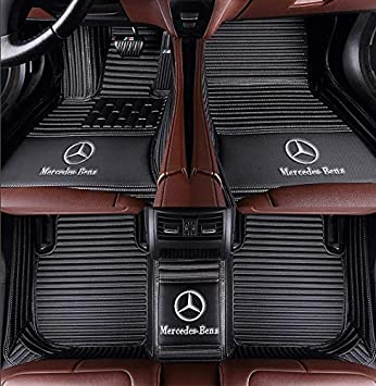 Fit for Mercedes-Benz CLA CLS GL GLA GLS Series CLA180 CLA200 CLA250 CLS400 CLS500 CLS550 GL350 GL450 GL550 GLA180 GLA200 GLA250 GLS350d GLS450 GLS550 2008-2019 Luxury Waterproof Floor mats Stripe