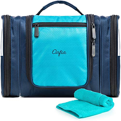 0da6dbdef28e Travel Toiletry Bag for Men   Women with Strong 360° Hook by Oafia - Hanging