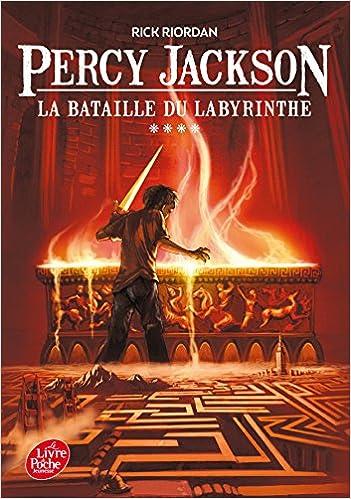 Epub télécharger des livres gratuits Percy Jackson - Tome 4 - La bataille du labyrinthe by Rick Riordan 2013971060 DJVU