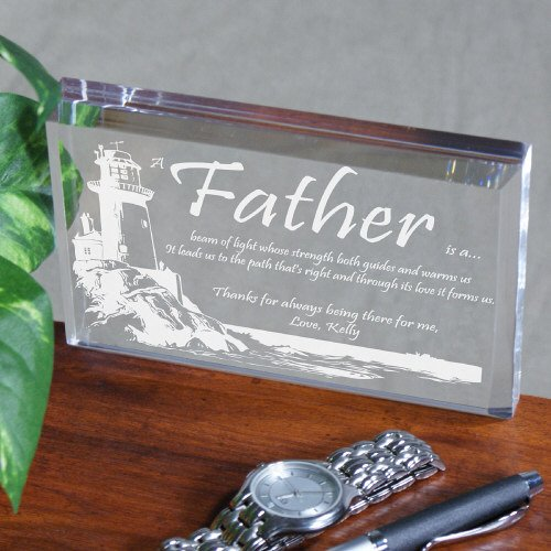 Personalized Father's Day Keepsake - Lighting The Way, 3