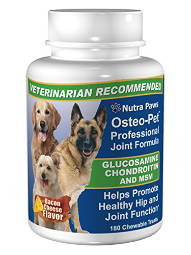 180ct Value Size Osteo-Pet Glucosamine Chondroitin for Dogs