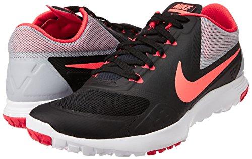 Zapato / / blanco / negro Nike de baloncesto blanco Velocity Gimnasio Rojo 8 con nosotros, BLACK-HOT LAVA-WLF GRY-DRNG RD, US8|UK5.5|EU39