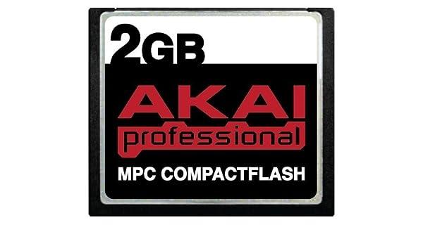 Akai - Tarjeta de Memoria Compact Flash CF para MPC500 ...