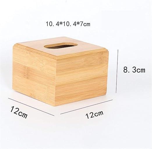 Gu3Je Caja de pañuelos Reative Deco Caja de pañuelos de Madera del ...