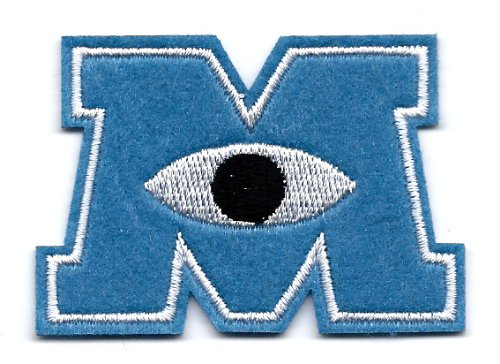 monster inc iron on patch - 1