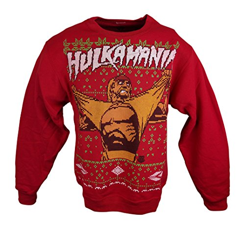 Professional Wrestlers Ugly Christmas Holiday Sweaters