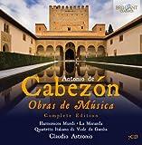 Cabezon: Obras de Música - Complete Ed ition