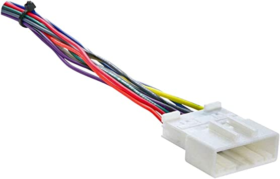 raptor car stereo wiring harness amazon com raptor ni 7552 radio wiring harness for select nissan  raptor ni 7552 radio wiring harness