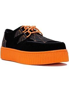 f054fb3c81fe ... Sea Witch Festival Platform Shoes in Purple Green.  100.00 -  119.99 ·  STRANGE CVLT YRU KRYPT Spiderweb Black Orange Batwing Shoe s Creeper s