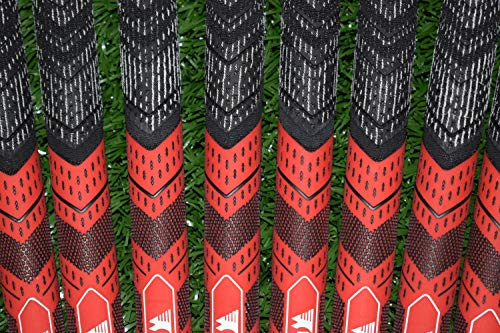 Wedge Guys Hybrid MM Golf Grips - Set of 13 Corded Moisture Wicking  All-Weather Performance Golf Club Grip Replacement for Custom Regripping of  Clubs
