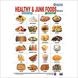 Buy Healthy Junk Foods Chart Book Online At Low Prices In India Healthy Junk Foods Chart Reviews Ratings Amazon In