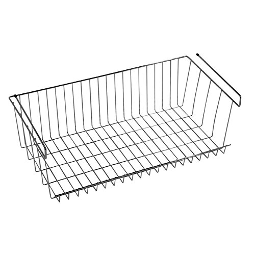 LTL Home Products Under Shelf Basket, Large, Chrome by LTL Home Products