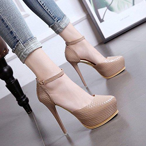 LBTSQ-Extra-High-Heels 13Cm Aufgewölbte Sandalen Sandalen Sandalen Wasserdicht Tabellen Dünn Und Flach Damenschuhe. d3a366