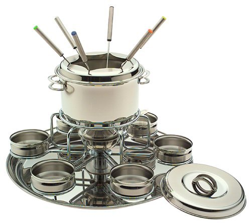 Tramontina Deluxe Stainless Steel Fondue by Tramontina