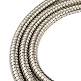 JAKARDA 60-inch Extra Long Shower Hose Replacement, 304 Stainless Steel Long Hand Held Shower Hose With Brass Fitting