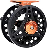 Maxcatch ECO Large Arbor Fly Fishing Reel (3/4wt 5/6wt 7/8wt) and Pre-Loaded Fly Reel with Line Combo
