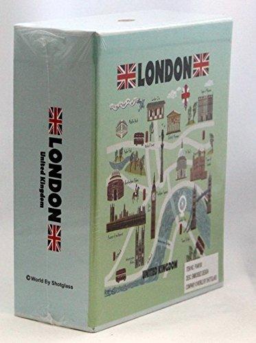 London England Embossed Photo Album 100 Photos /4x6 NEW
