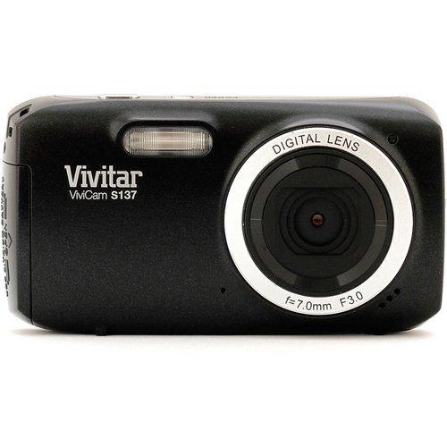 Vivitar 16.1MP Digital Camera with 3-Inch TFT (VS137-BLK-BOX-ESP)