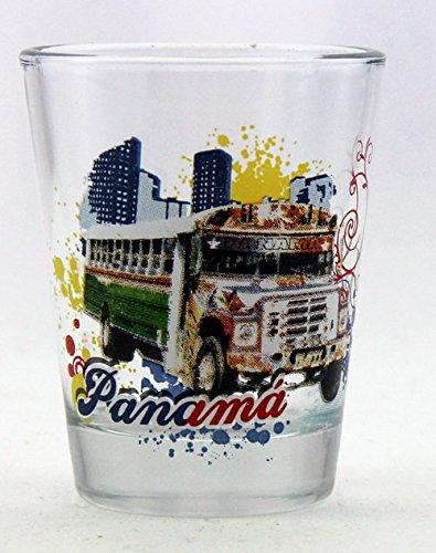 Panama Bus Shot Glass