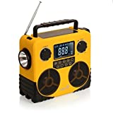 Ivation 7-in-1 Bluetooth and Radio Speaker