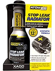XADO ATOMEX koelsysteem afdichtmiddel additief voor het verwijderen van lekken op de autokoeler, koelafdichtmiddel