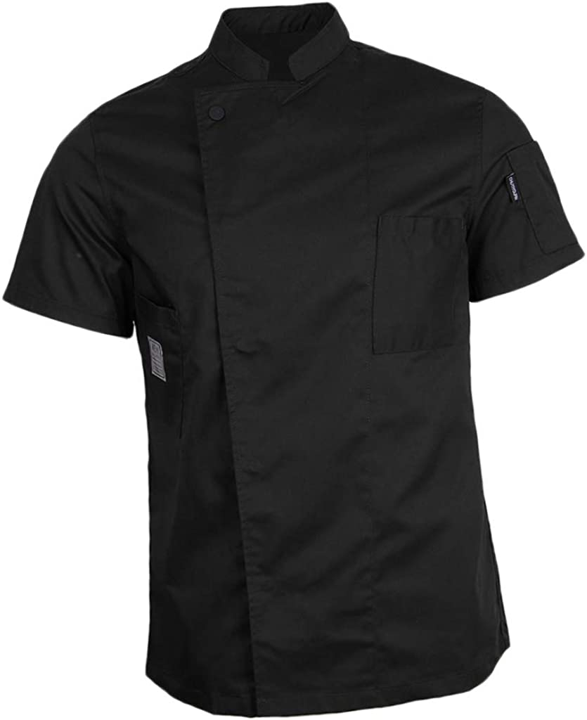 Sharplace Giacca Da Cuoco Uomo Abbigliamento Da Lavoro Per Chef Uniformi per Ristorante