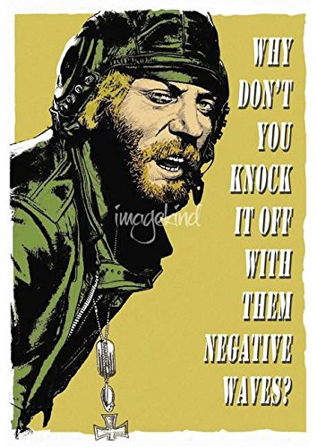 Imagekind Wall Art Print entitled Kelly's Heroes: Oddball Says by Dan Avenell | 16 x 23