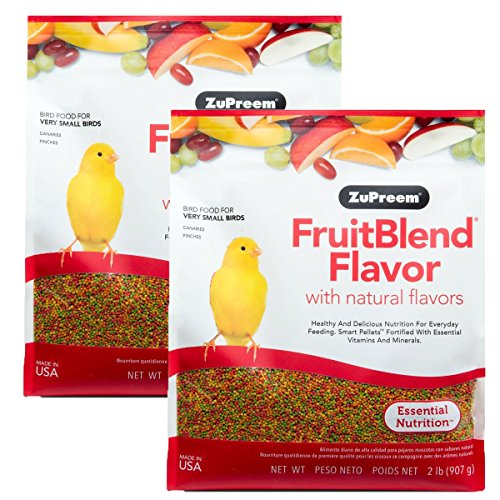 ZUPREEM 230300 Fruitblend X-Small Canary/FInch Food, 2-Pound (2 Pack)