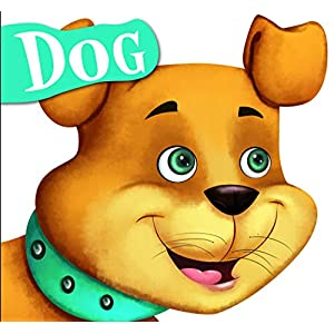 Cutout Board Book: Dog( Animals...
