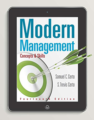 Modern Management: Concepts and Skills (Modern Management Concepts And Skills 14th Edition Ebook)