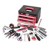 Hyper Tough 86-Piece All-Purpose Tool Set Red/Black, L x W x H 13.78'' x 9.84'' x 7.48''