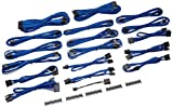 BitFenix ALCHEMY 2.0 PSU CABLE KIT for Corsair Power Supply AXi/HXi/HX,RM/Rmi/RMx/CS-M/TX-M/CX-M, for BitFenix Power Supply Whisper M , CSR-SERIES - Blue (BFX-ALC-CSRBB-RP)